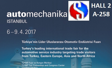 We will be 2017 Automechanika Istanbul